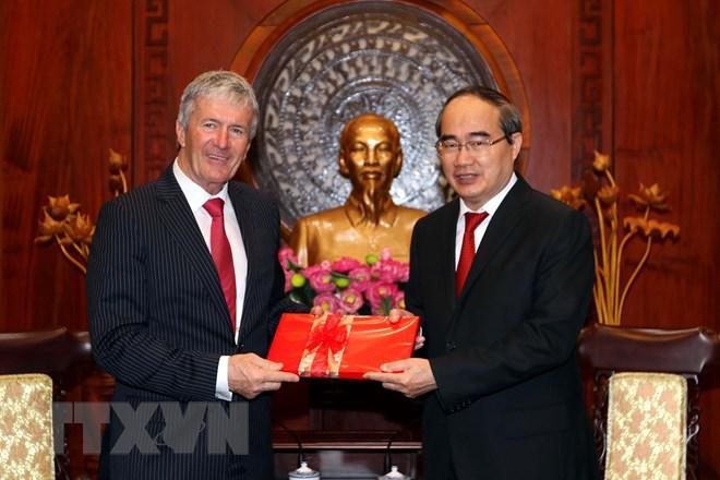 胡志明市力推与新西兰的贸易合作
