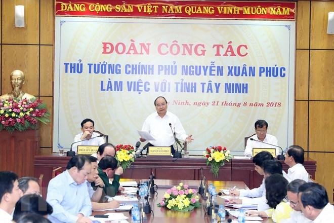 阮春福总理:西宁应成为靠农业致富的典范
