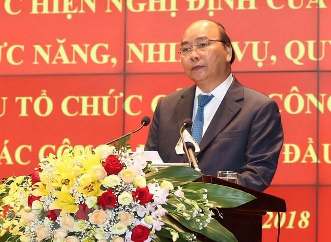 政府总理阮春福:聚焦建设德才兼备的人民公安队伍