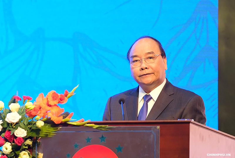 阮春福总理出席2018年广平省投资促进会