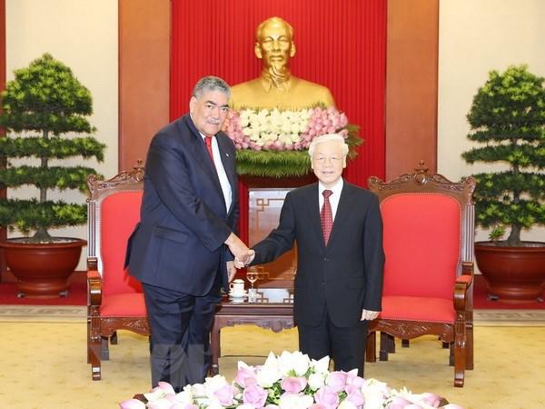 增强越南与多米尼加友好关系
