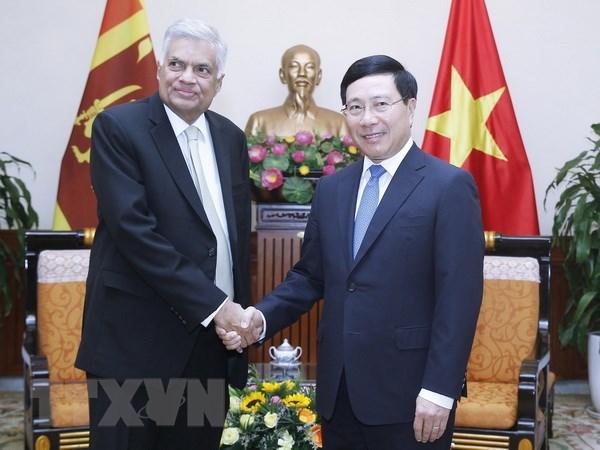 越南欲与斯里兰卡加强合作关系