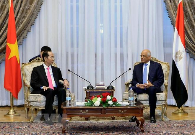越南一向重视维护与埃及的传统友好关系