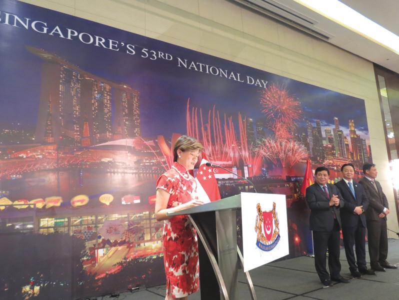 越南和新加坡合作关系日益密切