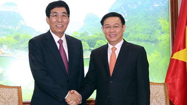 促进越中双向贸易平衡可持续发展