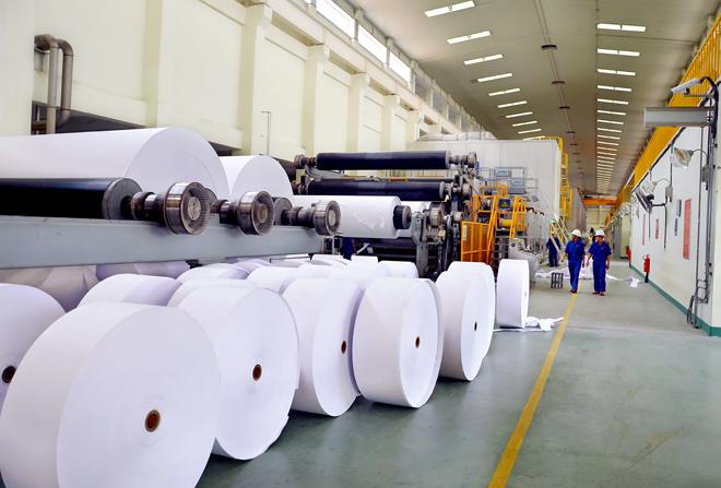 越南对中国的纸品出口额突增