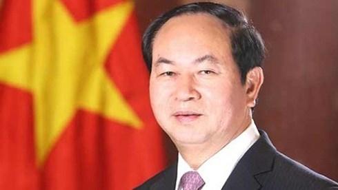 越南国家主席陈大光向第39届东盟议会联盟大会致以贺电