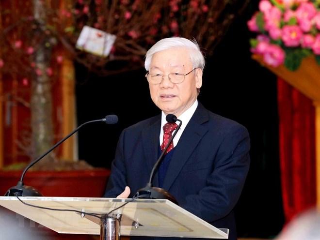 越共中央总书记阮富仲即将对俄罗斯进行正式访问