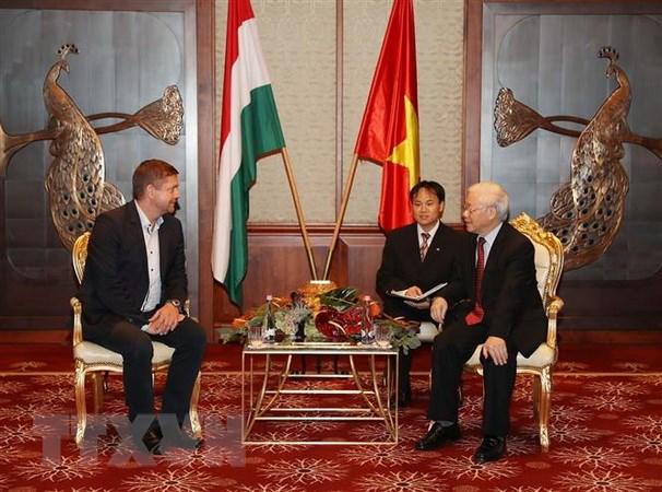 继续巩固和加强越匈两国传统友好与全面合作关系