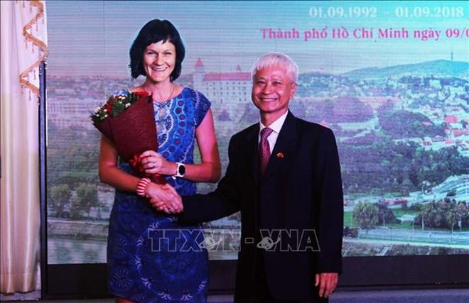 斯洛伐克国庆庆祝活动在胡志明市举行