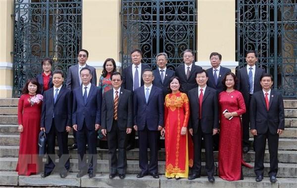 中国最高人民法院高级代表团对胡志明市进行访问