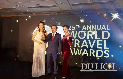 """越南荣获""""2018年亚太地区最佳旅游目的地""""奖"""