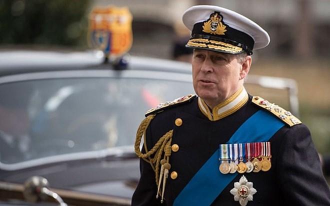 越共中央总书记阮富仲会见英国约克公爵安德鲁王子