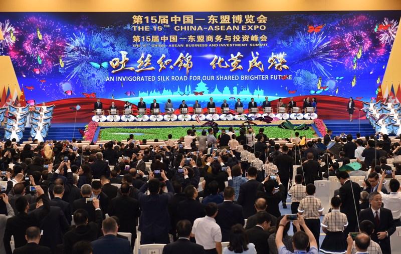 推进东盟与中国各领域合作