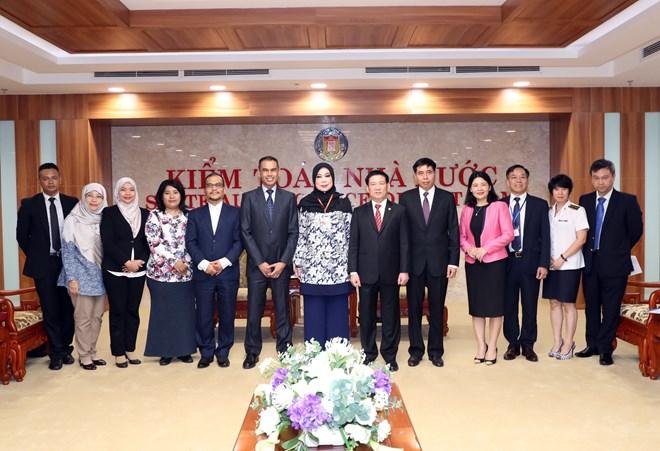 进一步加强越南国家审计署与马来西亚国家审计署的合作