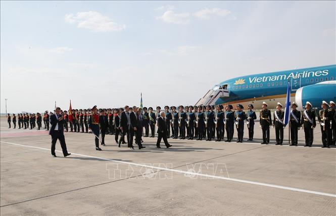 越共中央总书记阮富仲致电感谢俄罗斯总统普京