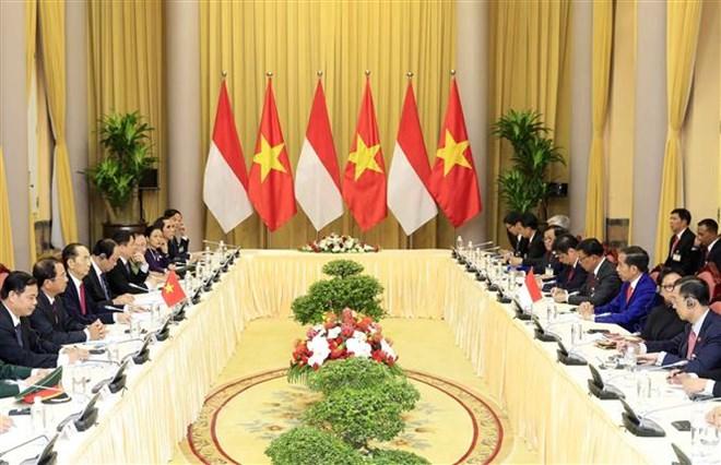 越南和印尼力争将双边贸易额提升至100亿美元