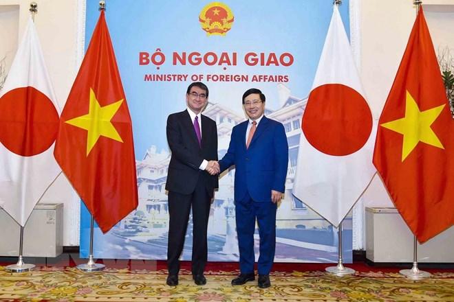 日本将支持并协助越南促进可持续发展