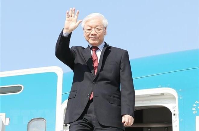 越共中央总书记阮富仲俄罗斯和匈牙利之行圆满结束