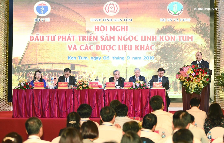 阮春福总理:期待今后十年玉灵参创造数十亿美元的价值
