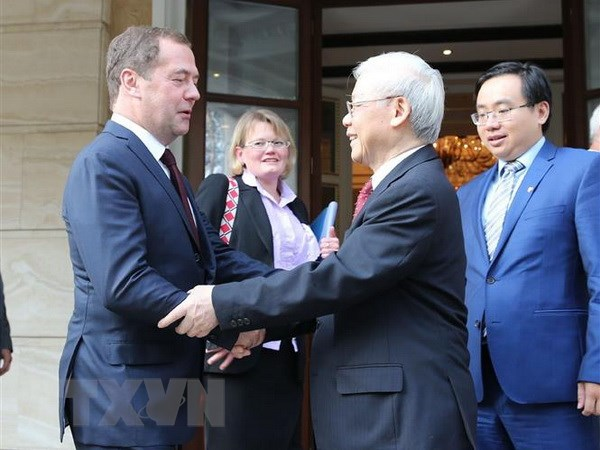 越南重视发展与俄罗斯的全面战略伙伴关系