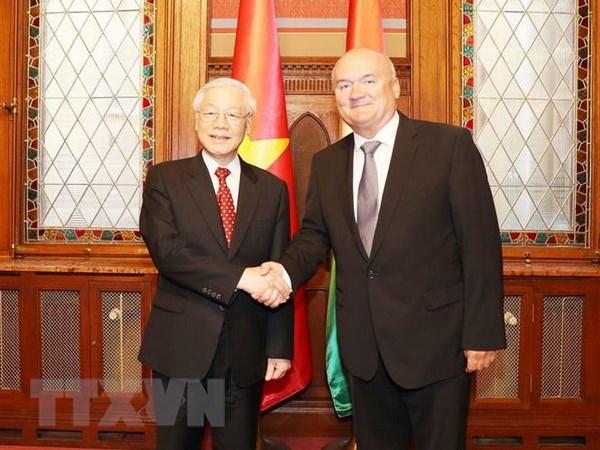 匈牙利国会支持越南加强与欧盟的全面合作关系
