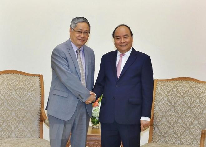 政府总理阮春福会见出席2018年世界经济论坛东盟峰会的外宾