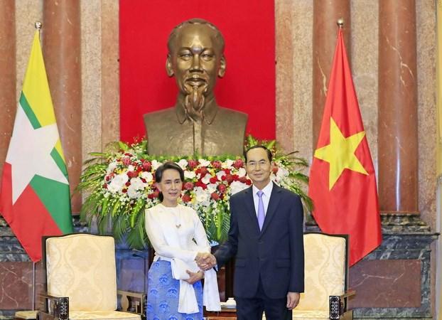 越南一向珍惜与缅甸的传统友好合作关系