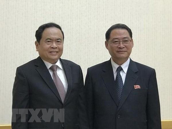 越南代表团访朝并出席朝鲜建国70周年庆典
