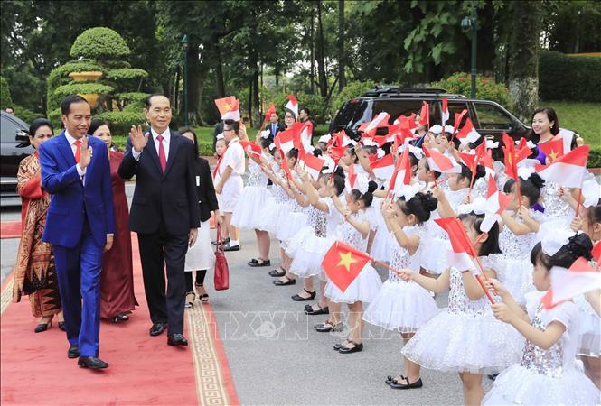 印度尼西亚媒体深入报道印尼总统佐科对越南进行的访问