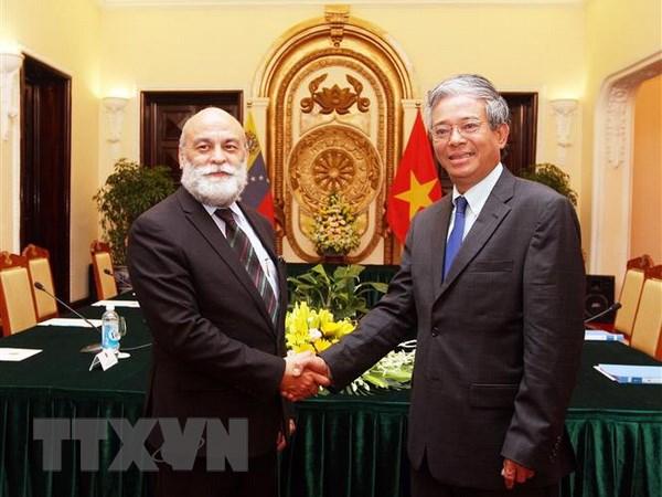 越南与委内瑞拉第七次外交部副外长级政治磋商召开