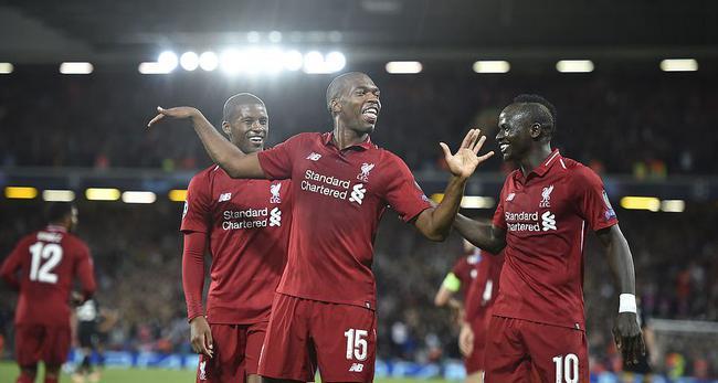 欧冠:利物浦3-2胜巴黎