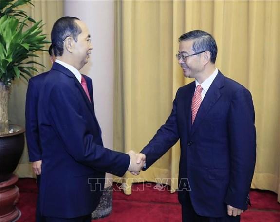 越南党和国家一向支持越中两国最高人民法院增强合作