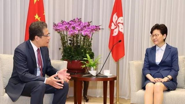 推动越南各地与中国香港的合作