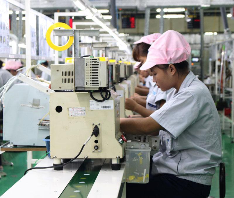 2018年前9个月北宁省工业生产指数同比增长15.8%
