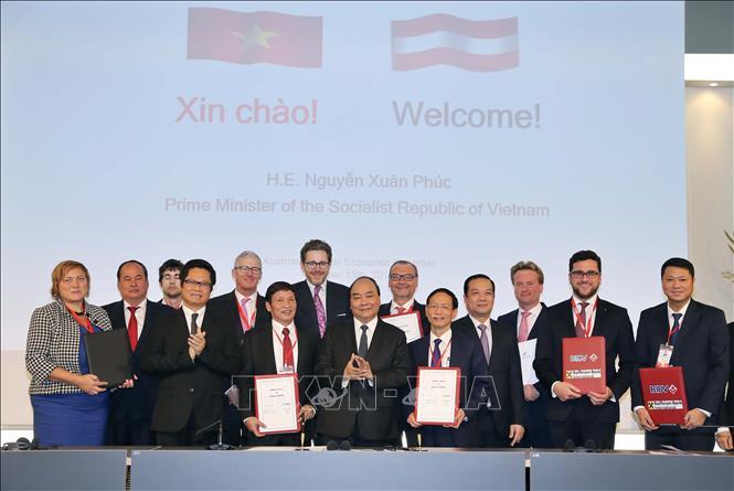 阮春福总理欢迎奥地利企业对越投资