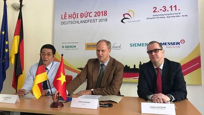 2018年德国文化节即将在河内举行