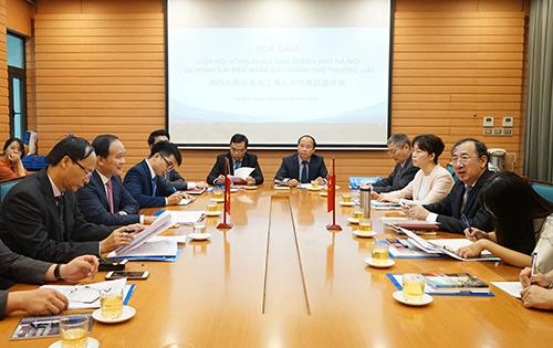 河内与中国上海力推双边合作关系