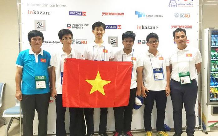 越南学生在地区奥林匹克和国际竞赛上获得38枚奖牌