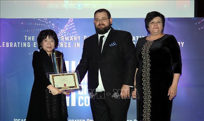 越南AIC集团在智慧城市全球大赛上荣获优异奖
