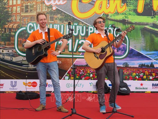芹苴市荷兰文化日正式开幕