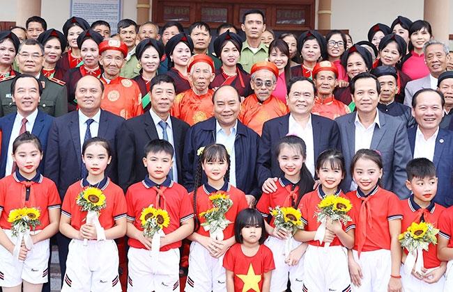 """阮春福总理出席在北江省举行的""""全民族大团结日""""活动"""