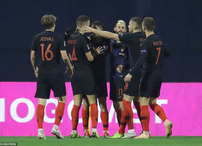 欧国联: 西班牙2-3客负克罗地亚