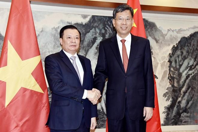 越南与中国加强金融领域合作