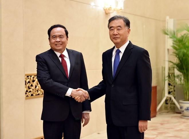 加强越南祖国阵线与中国政协的合作