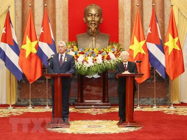 古巴国务委员会主席兼部长会议主席米格尔:古越关系始终为特殊关系
