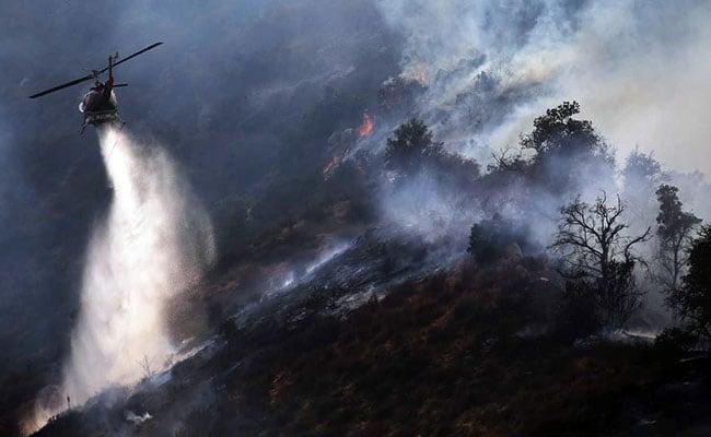 """美国""""坎普""""山火得到完全控制"""