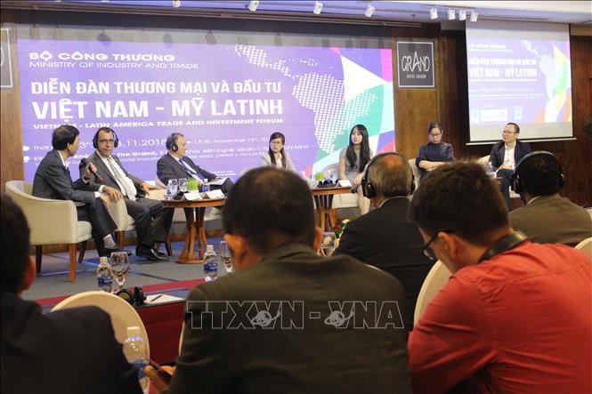 促进越南和拉丁美洲地区之间的贸易投资合作