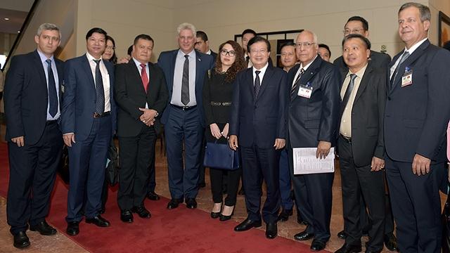 促进越古经贸投资合作关系