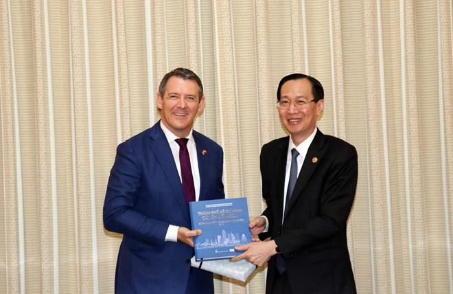 进一步促进胡志明市与澳大利亚北领地之间的经贸合作关系